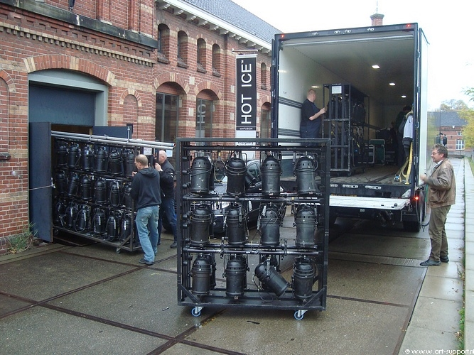 Laden Lossen Licht Geluid Decor Stagehands